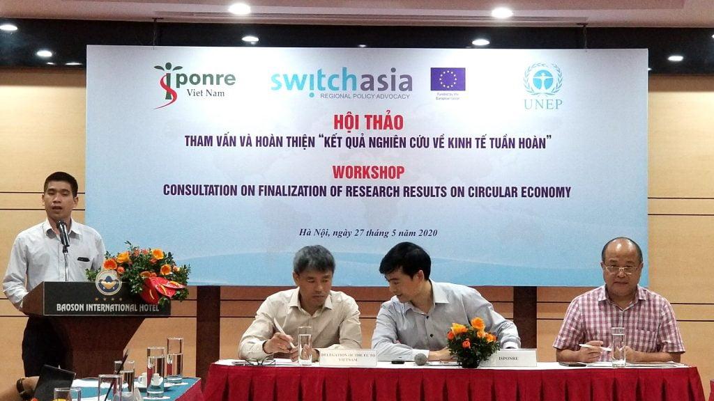 """Hiệp hội Giấy tham dự Hội thảo tham vấn và hoàn thiện """"Kết quả nghiên cứu về kinh tế tuần hoàn"""""""