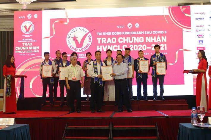 VPP Hồng Hà 20 năm liên tục nhận danh hiệu Hàng Việt Nam chất lượng cao