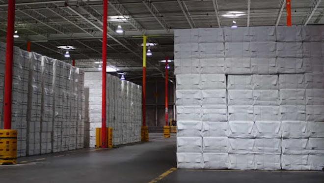 Tồn kho bột giấy toàn cầu tiếp tục gia tăng, dự báo giá sẽ giảm tại Trung Quốc