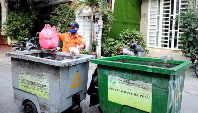 Phân loại tại nguồn: Yêu cầu cấp bách quản lý chất thải rắn
