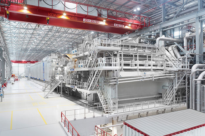 Liansheng Paper xây dựng tổ hợp bột giấy và giấy khổng lồ tại Trung Quốc