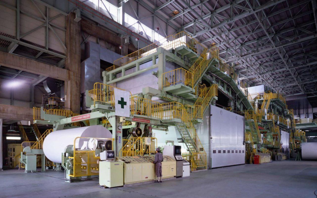 Oji khởi chạy dây chuyền tissue đầu tiên tại nhà máy ở Nantong, Trung Quốc