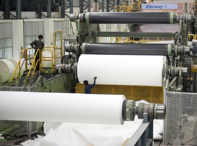Century Textiles Ấn Độ, mở rộng sản xuất giấy in, viết, khởi chạy máy tissue mới
