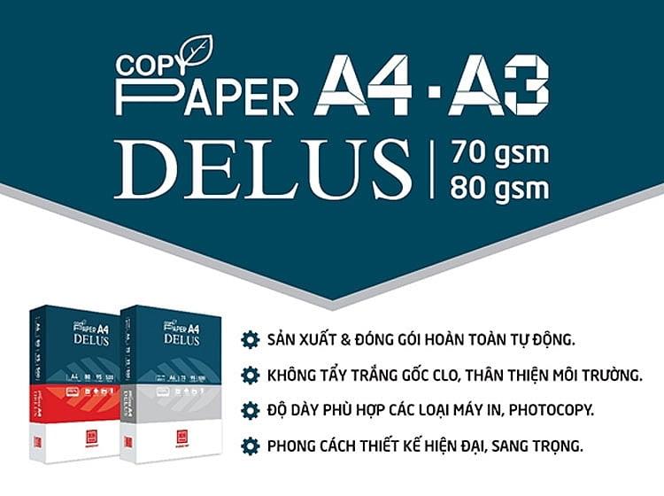 Công ty CP Văn phòng phẩm Hồng Hà ra mắt sản phẩm mới giấy in Hồng Hà Delus