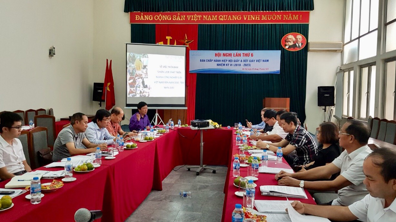 Hội nghị lần thứ 6 Ban Chấp hành Hiệp hội Giấy và Bột giấy Việt Nam