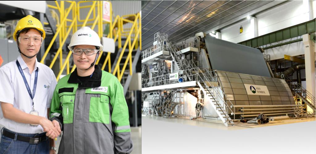 Valmet cung cấp máy giấy mới cho Asia Symbol tại Quảng Đông, Trung Quốc