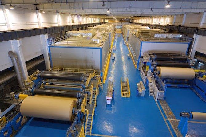 Các công ty Việt Nam liên tục khởi chạy dây chuyền sản xuất giấy bao bì mới
