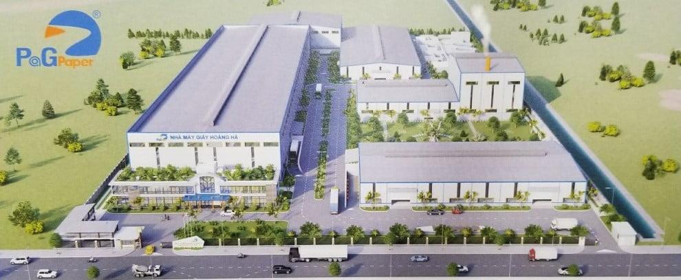 Công ty Cổ phần Giấy Hoàng Hà (Hải Phòng) động thổ khởi công xây dựng nhà máy mới