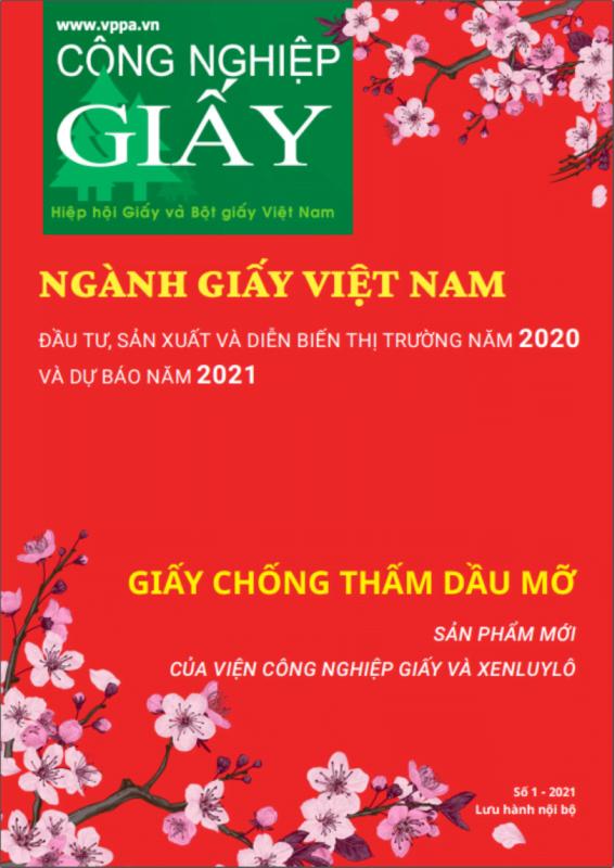 Ấn phẩm Công nghiệp Giấy số 1 – 2021