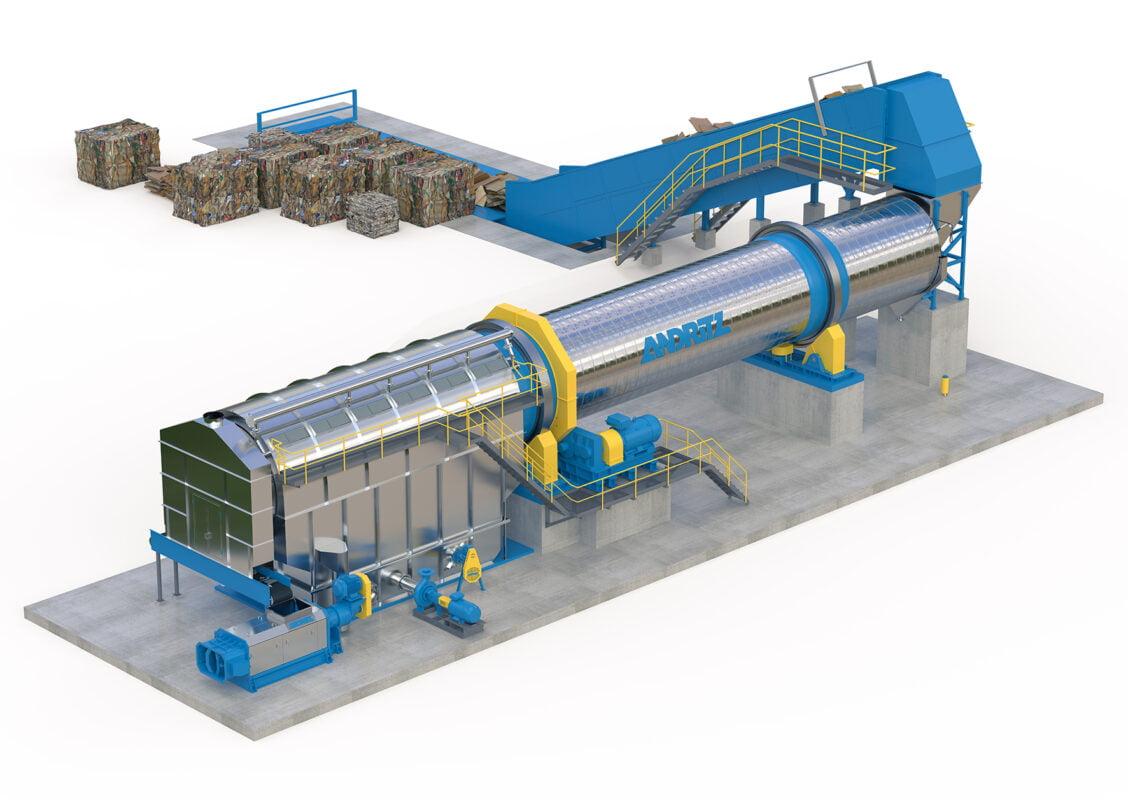 ANDRITZ chuyển đổi máy xeo giấy in báo sang giấy bao bì tại Volga Pulp and Paper Mill
